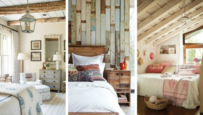 inspiring country chic bedroom decorating ideas | Country style bedroom - 30+ examples of cozy bedroom ...