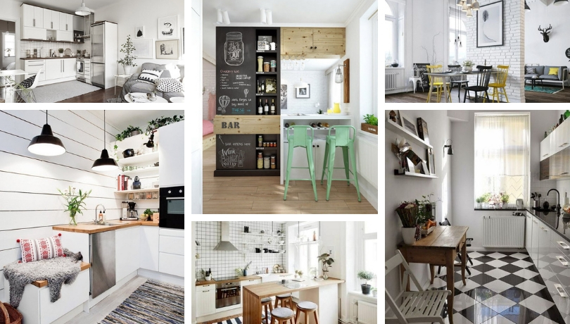 Kitchen Living Room In Scandinavian Style A Fresh Unusual Trend Decision My Desired Home