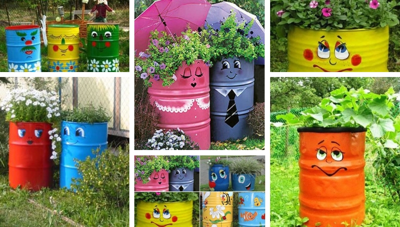 Cheerful Diy Gardening Ideas With Old Barrels My Desired Home