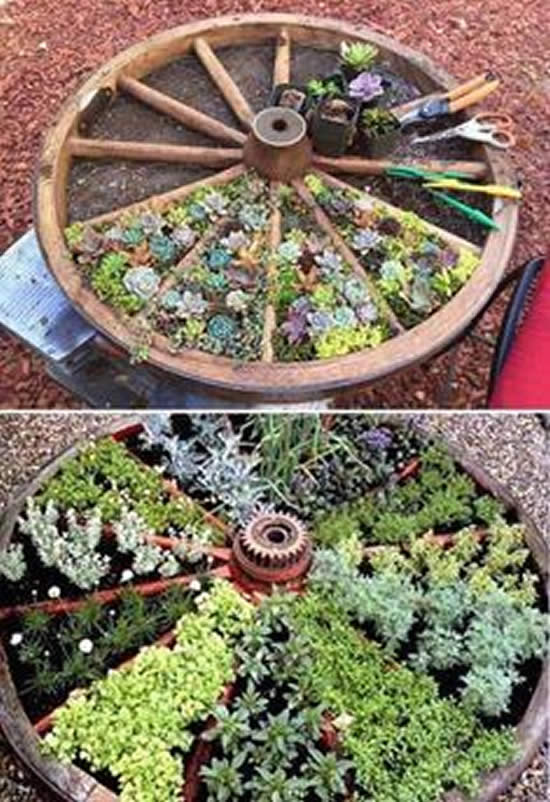 Diy Ideas For Vintage Garden Decoration With Old Things My Desired Home