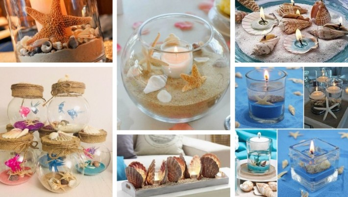 Diy Decorations With Seashells Inspiration And Imagination
