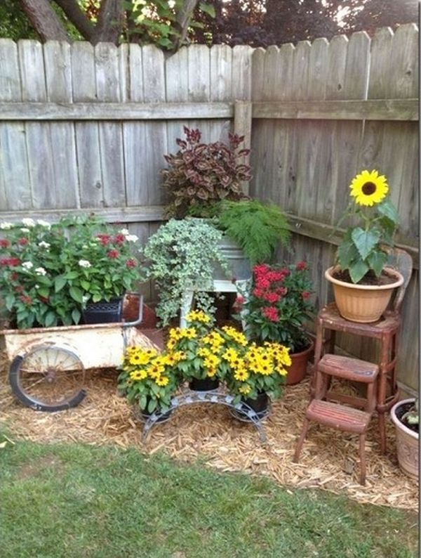 How To Give Your Garden A Rural Rustic Air Easy Summer Diy