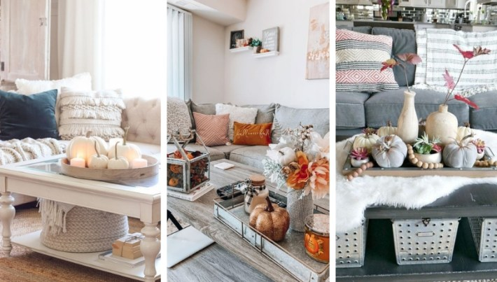 32 Amazing Autumn Decorating Ideas for Your Living Room ...