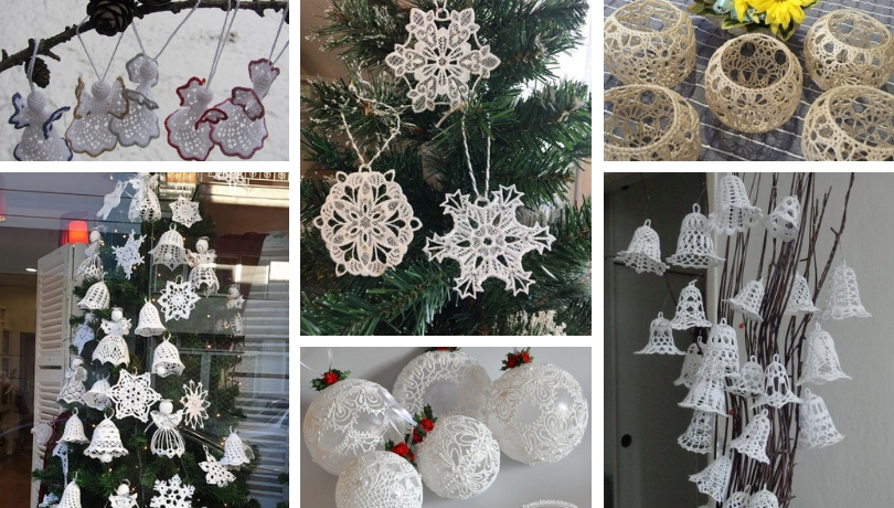 Diy Christmas Ornaments From Lace For A Nostalgic Touch To Your Home Decor My Desired Home