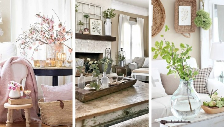 30 Farmhouse spring decorating ideas to make your home come alive