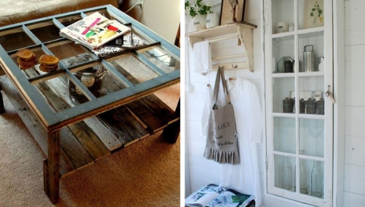 Perfect DIY ideas for turning an old window into artwork for your home decoration