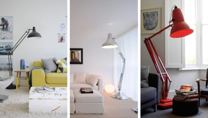 Floor lamps in the living room: stylish and functional lighting ideas