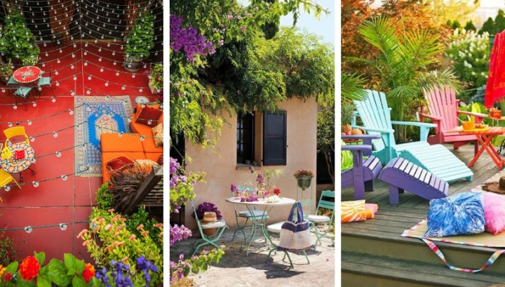 30 Great DIY ideas that will give more color to your garden, making it more attractive