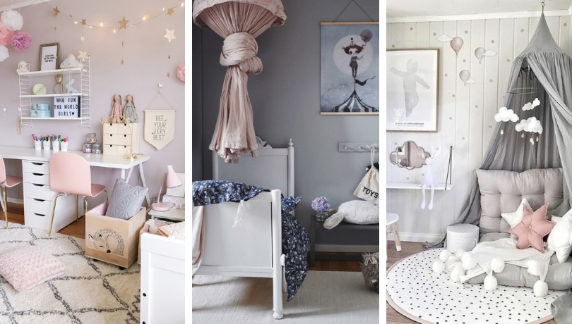 Great Girl S Room In Pink And Gray Find The Best Decorating Ideas My Desired Home