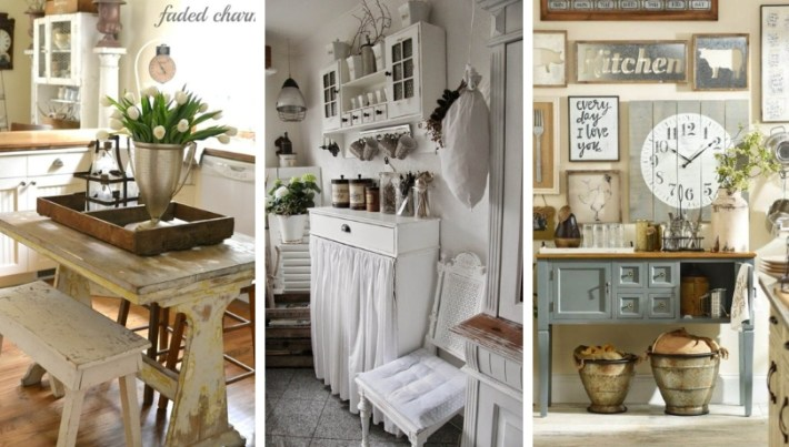 Country style for the kitchen – 22 great ideas that will inspire you