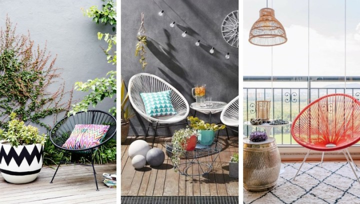 Acapulco chair – 37 decorating ideas in the classic timeless virtual design