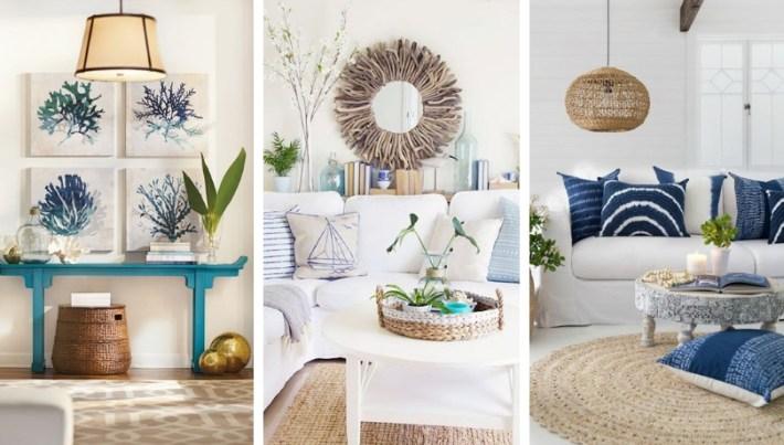 Wonderful nautical style decoration for summer inspiration