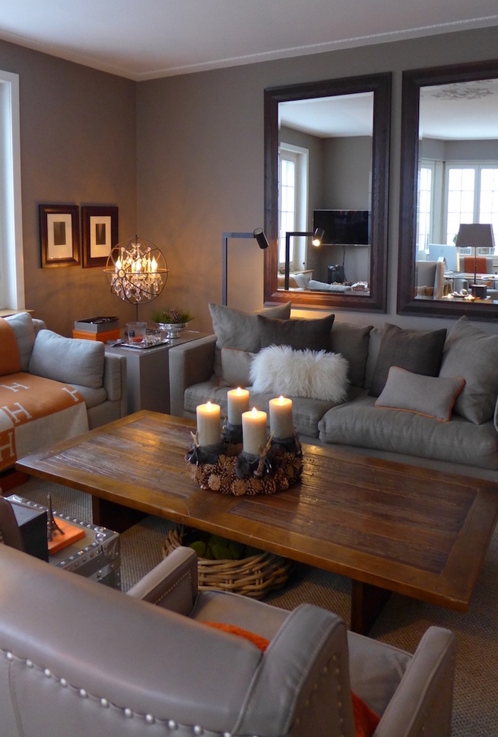 Cozy Warm Living Room Ideas How To Transform This Basic Room For Fall Winter Season My Desired Home