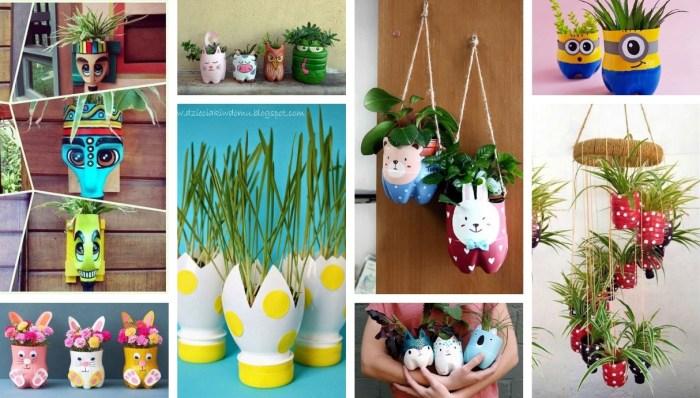 Fun DIY Plastic Bottle Pots – 36 amazing Inspirational Ideas