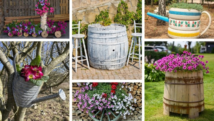 Decorate your garden with lower costs by recycling: 27 inspirations that should not be missed