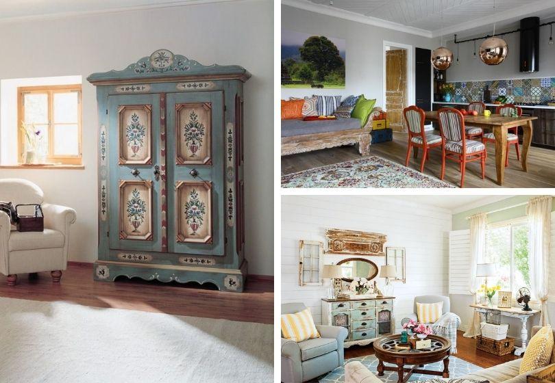 Vintage style in the interior: 23 nostalgic retro decoration ideas
