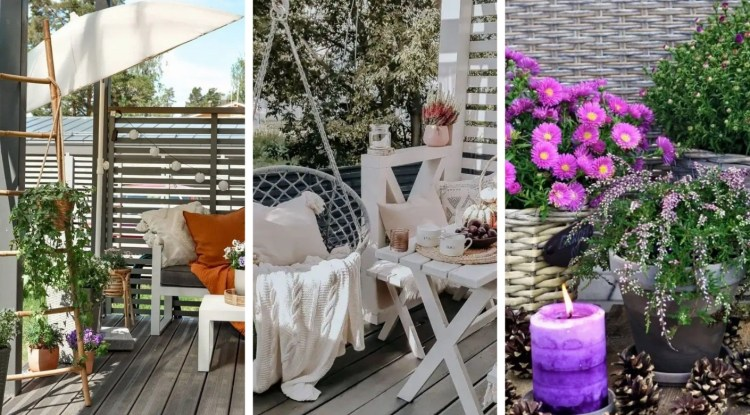 20 ideas for atmospheric autumn decorations on the terrace