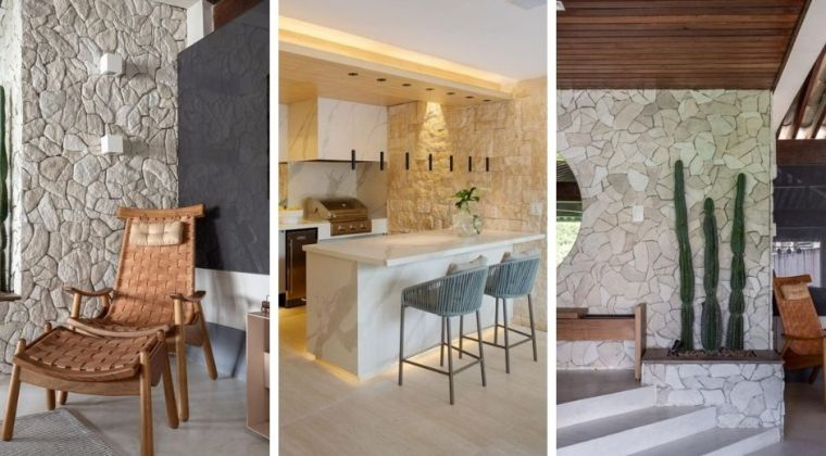 35 stone wall photos and ideas to bet on a modern rustic coating