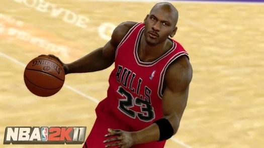 NBA 2k11 Michael Jordan