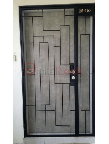 thin-pattern-design-mild-steel-hdb-gate