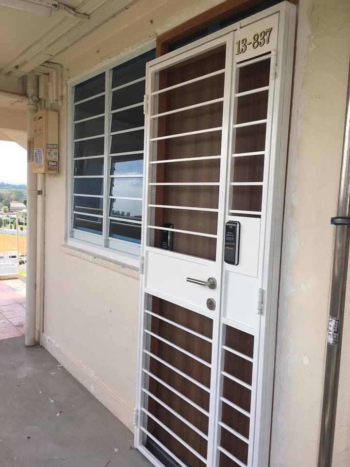 Hdb Designer Fire Rated Main Door 999 Hdb Mild Steel