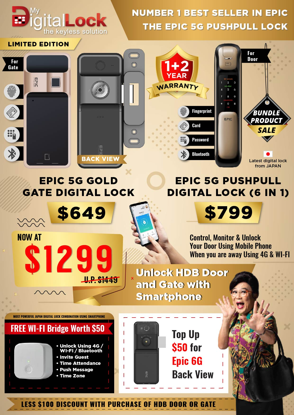 EPIC-5G-Gold-Gate-and-5G-Push-Pull-Digital-Lock-Promotion-10