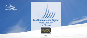 #MARKETING - Les Sommets du Digital @ la Cluzas France | La Clusaz | Rhône-Alpes | France