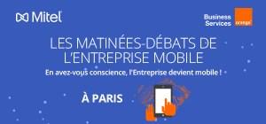 #MOBILE - L'entreprise devient mobile @ Capital 8 (Paris) | Paris | Île-de-France | France