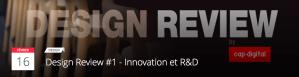 #TECHNO - Design Review - CAP DIGITAL @ Paris | Île-de-France | France