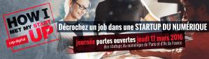 #Startup - Décrochez un job dans une Startup du numérique - By Cap Digital @ Paris - Ile de France | Paris | Île-de-France | France