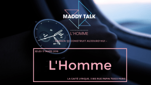 #innovation - L'HOMME - By Maddy Talk @ La Gaité Lyrique | Paris | Île-de-France | France