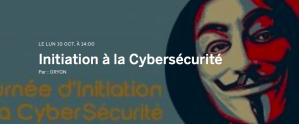 #SECURITE - Initiation à la cybersécurité - By ORYON @ La Roche-sur-Yon | Pays de la Loire | France