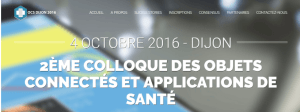 #IOT  - 2ème Colloque des Objets Connectés et applications de Santé - By Dijon Développement @ Dijon | Bourgogne Franche-Comté | France