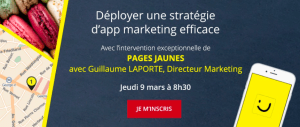 #eMARKETING - Déployer une stratégie d'app marketing efficace - By AD4SCREEN @ Ladurée | Paris | France