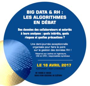 #eRH- BIG DATA & RH : LES ALGORITHMES EN DÉBAT - By FO Cadres @ Ag2R La Mondiale | Paris | Île-de-France | France
