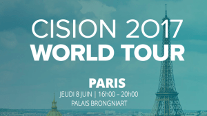#eMARKETING - Cision World Tour 2017 - By CISION @ Palais Brongniart | Paris | Île-de-France | France