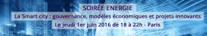 #SMARTCITY - La Smart city : gouvernance, modèles économiques et projets innovants - By AGRION et EBG