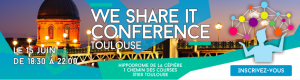 #IT - We Share IT Conference Toulouse  - By Infotel Conseil @ Hippodrome de la Cépière | Toulouse | Occitanie | France