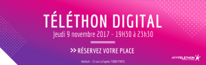 #TelethonDigital - Téléthon digital - By AFM Téléthon @ WeWork | Paris | Île-de-France | France
