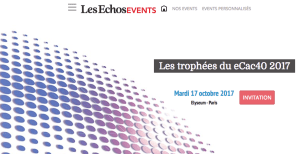 #TRANSFORMATION - Les Trophées du eCAC 40 2017 -  By Les Echos Events @ Elyseum | Paris | Île-de-France | France