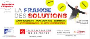 #SOCIETE - La France des solutions - By Reporters d'espoir @ Palais d'Iéna - siège du Conseil Economique, Social et Environnemental | Paris | Île-de-France | France