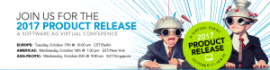 #IT - Conférence online - 2017 PRODUCTS RELEASE - By Software AG @ événement virtuel