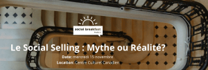 #eMARKETING - Le Social Selling : Mythe ou Réalité ? - By HOOTSUITE @ Centre Culturel Canadien | Paris | Île-de-France | France