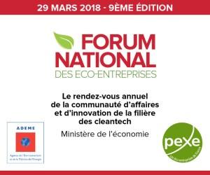 #ENTREPRENARIAT - Forum national des éco-entreprises - By PEXE @ Ministère de l'Economie | Paris | Île-de-France | France