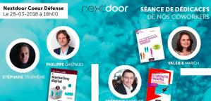 #MARKETING - 3 livres pour mener une stratégie digital efficace - By NEXTDOOR @ Nextdoor Coeur Défense | Courbevoie | Île-de-France | France