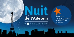 #MARKETING - La Nuit de l'ADETEM - By ADETEM @ Salle Wagram Paris  | Paris | Île-de-France | France