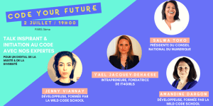 #TECH - Code your future - By DAME! @ Lieu secret - 3e | Paris | Île-de-France | France