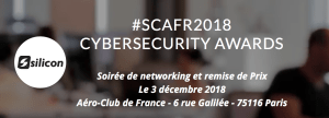 #IT #SCA2018 - Silicon Cyber Security Awards #SCA2018 - By NetMediaGroup @ Aéro-Club de France | Paris | Île-de-France | France