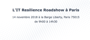 #IT - Zerto IT Resilience Roadshow - By Zerto @ Zerto IT Resilience Roadshow | Paris-15E-Arrondissement | Île-de-France | France