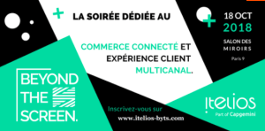 #RETAIL - Beyond the Screen - By ITELIOS @ Salon des Miroirs | Paris | Île-de-France | France